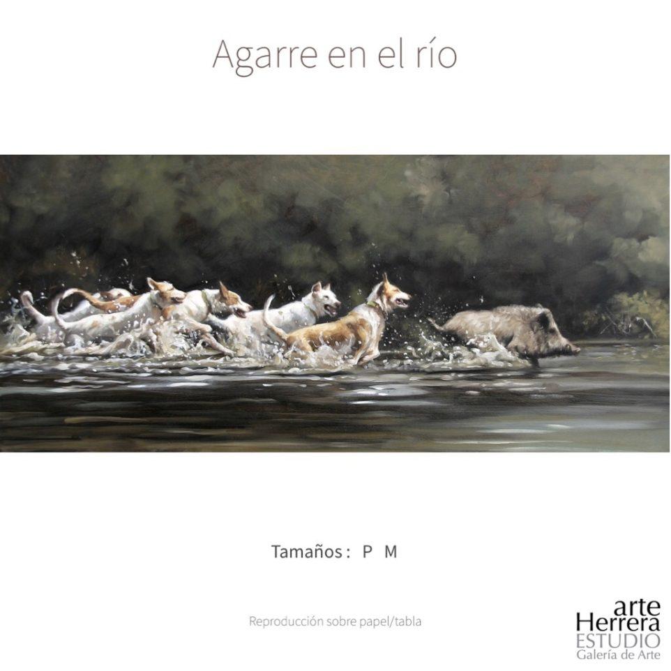 Reproducción Agarre en el río