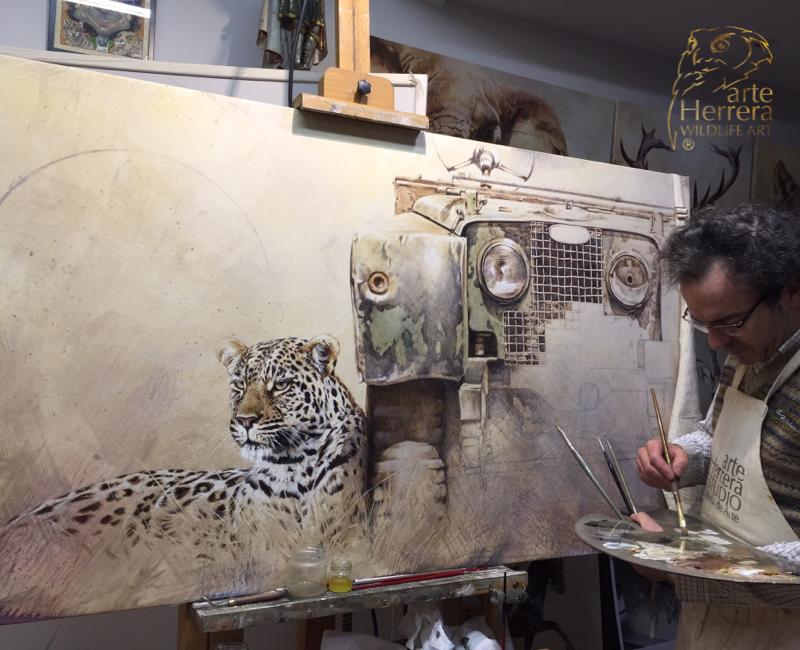 Fernando G. Herrera finalista artista Wildlife del año