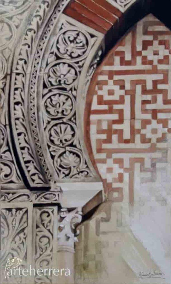 arqueria mezquita de cordoba herrera