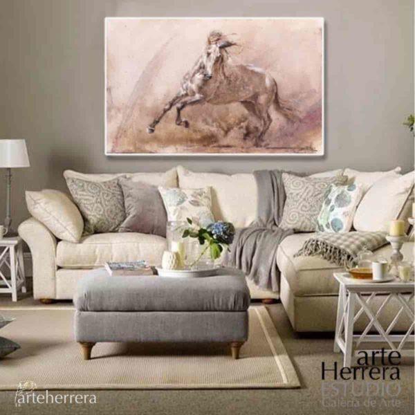caballo espanol aire y tierra herrera deco
