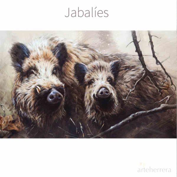 jabalies caza herrera
