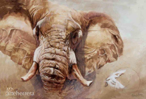 lamina elefante bigfive arteherrera