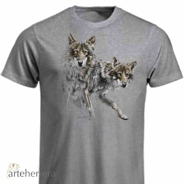 Camiseta lobos wolf arteherrera
