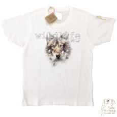 CHILDREN WILDLIFE WOLF T-SHIRT