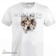 WILDLIFE WOLF T-SHIRT