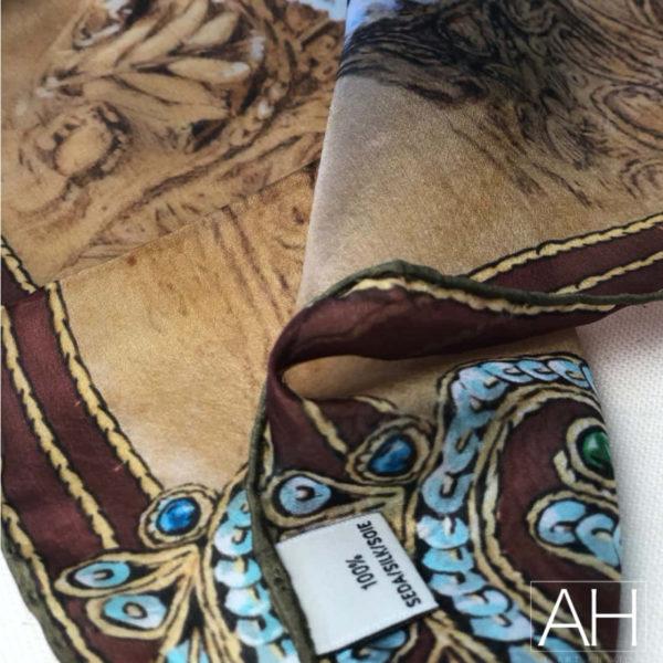 panuelo bolsillo torero azul6