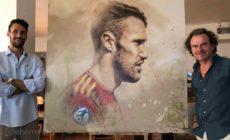 retratos herrera arteherrera futbol 1