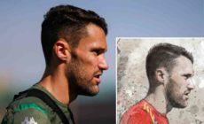 retratos herrera arteherrera futbol boceto