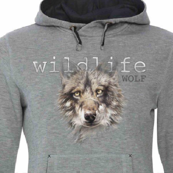sudadera Hoody arteherrera lobo wolf