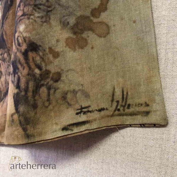 cashemire torero 160x70 arteherrera firmado