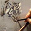 tigre herrera autor dibujo