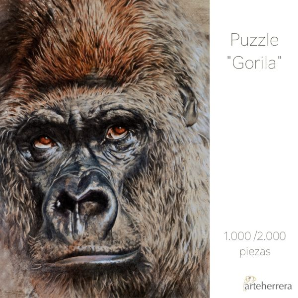 puzzle gorila arteherrera