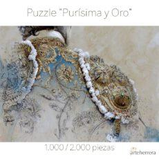Puzzle Purisima y oro