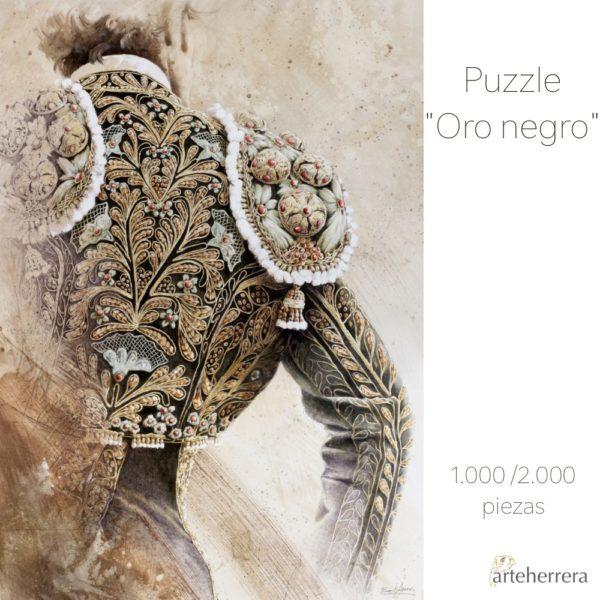 puzzle torero oronegro arteherrera